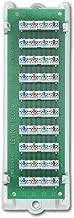 Leviton 47689-B 1x9 Bridged Telephone Module with Bracket