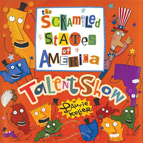 The Scrambled States of America Talent Show audiobook cover art