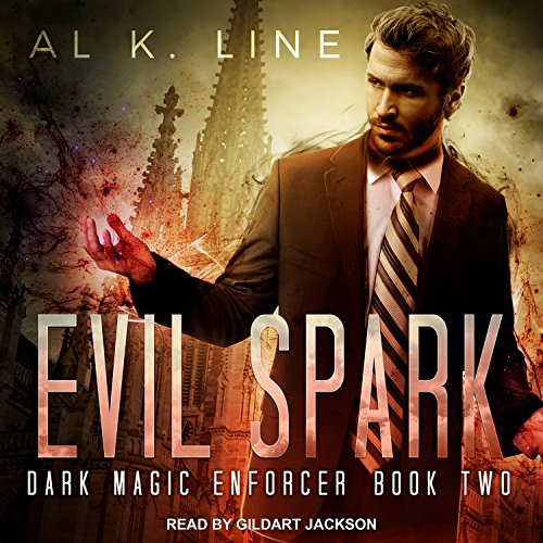Evil Spark audiobook cover art