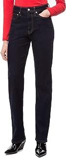 Calvin Klein Jeans Womens Denim High Rise Jeans