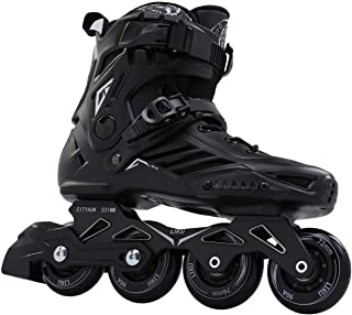 LIKU Black Skates Inline Skates Unisex