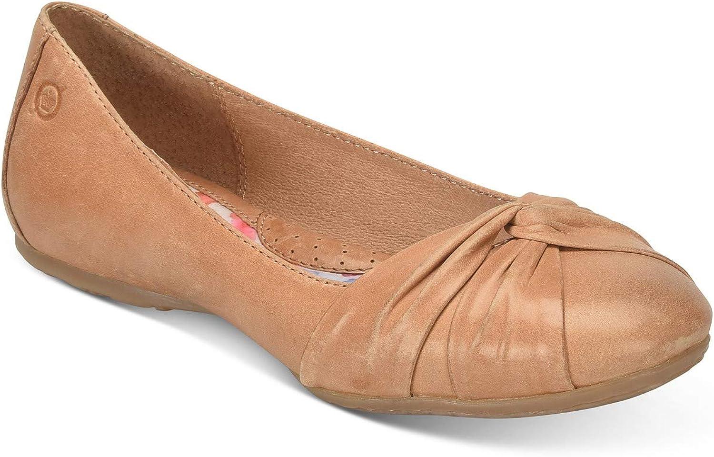 Born Frauen Lilly Leder Ballerinas, Ballerinas, flach  erstklassige Qualität