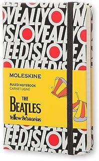 Caderno Edição Limitada, Beatles, All You Need Is Love, Capa Dura, Pautado, Tamanho Bolso