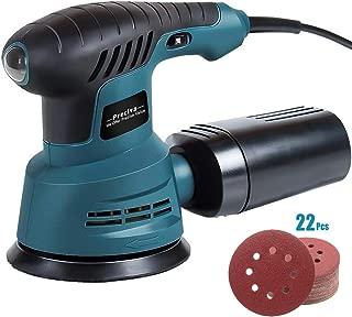 Lucidatura e Ceratura Levigatrice Mouse,Meterk 200W Levigatrice Mouse Multifunzioni 12500 RPM,con 20 Carte Abrasive in Velcro e Scatola per la Polvere,Ldeale per Falegnameria,Miglioramento Domestico