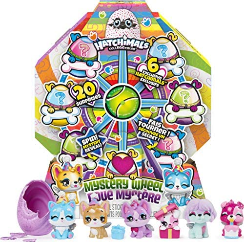 Hatchimals CollEGGtibles Puppy Party Mystery Wheel with 20 Surprises to UNbox for Kids Aged product image
