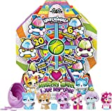 HATCHIMALS 6059963 CollEGGtibles, Puppy Party Mystery Wheel with 20 Surprises to Open, for Kids Aged 5 and Up, Grey
