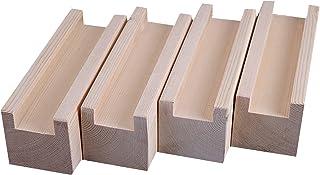 Hoogte 10cm Houten Meubelverhoger Meubelondersteuning Benen, Bed Heightening Pads, Meubelrisers Lift Houten Bed Bureau Ris...