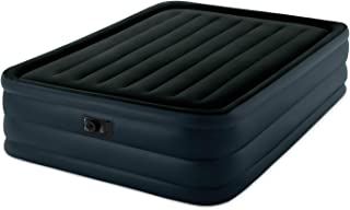 Intex Raised Downy Airbed with Built-in Electric Pump, Queen, Bed Height 22