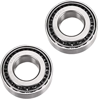 uxcell 32205 Tapered Roller Bearing Cone and Cup Set, 25mm Bore 52mm OD 19.25mm Thickness 2PCS
