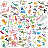 SZSMART Dinosaurier Temporäre Tattoos Kinder, Dino Tattoos Set Kindertatoo Fake Tattoos Kindertatoo...