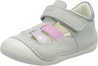 Geox B Tutim A, Sandales Bout Ouvert Fille