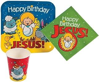 Best happy birthday jesus paper plates Reviews