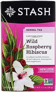 Stash Tea Tea Wild Raspberry Hibiscus 20 Tea Bags