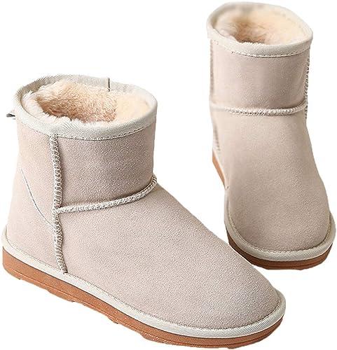 ZHRUI botas de otoño e Invierno para mujer, más botas de Nieve de Cachemira Artificial (Color   8, tamaño   38EU)