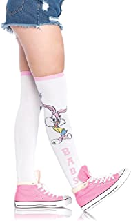 Leg Avenue Women's Tiny Toons Cartoon 90s Knee High Socks