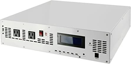 Automaxx 1500W 24V Hybrid Pure Sine Solar/PV Power Inverter Built in Solar/AC Charge/AC Bypass Mode. Auto or Manual Switch Between DC or AC Priority First for Off Grid System.
