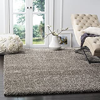 Safavieh Milan Shag Collection SG180-8080 Grey Square Area Rug (10' Square) (B01GS3O9FY) | Amazon price tracker / tracking, Amazon price history charts, Amazon price watches, Amazon price drop alerts