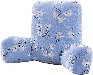 圧力を緩和するために枕ウエストオフィス戻るホームデコレーションを投げるソファ枕ジオメトリ Z10/6 (Color : V, Size : 58X38X20cm)