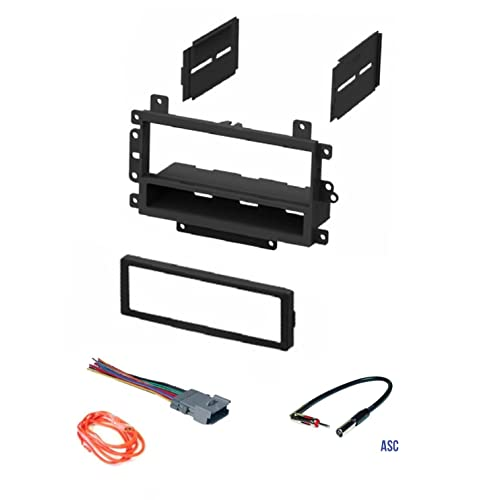 03-06 Silverado Tahoe Suburban Sierra etc ASC Audio Car Stereo Wire Harness and Antenna Adapter for Some Buick Chevrolet GMC Hummer Isuzu Oldsmobile Pontiac Please Read Important Info Below