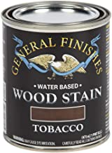 General Finishes WTTP Water Based Wood Stain, 1 Pint, Tobacco