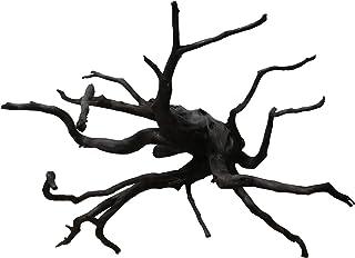 60cm水槽用 メイン(主役級)流木1本(黒色)【AQUASHOP wasabi】 アクアリウム用・水草水槽用流木 水草レイアウト水槽用黒枝流木