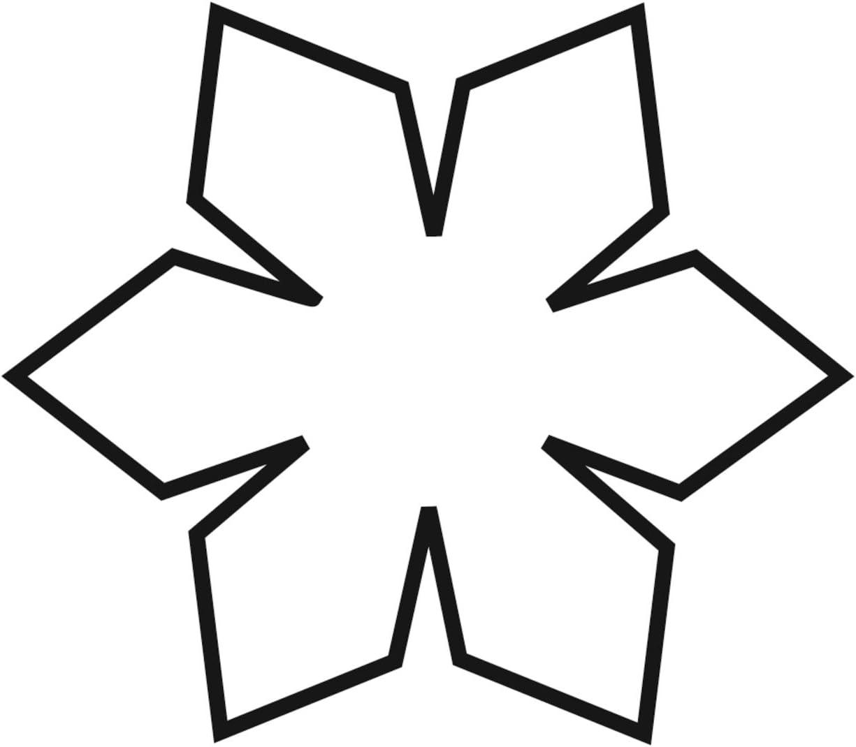 Acero Inoxidable Kaiser Cookie Cutters Molde para Galletas con Forma de Reno