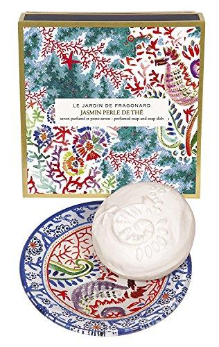 Fragonard Parfumeur Jasmin Perle de The Dish & Perfumed Soap - 150 g