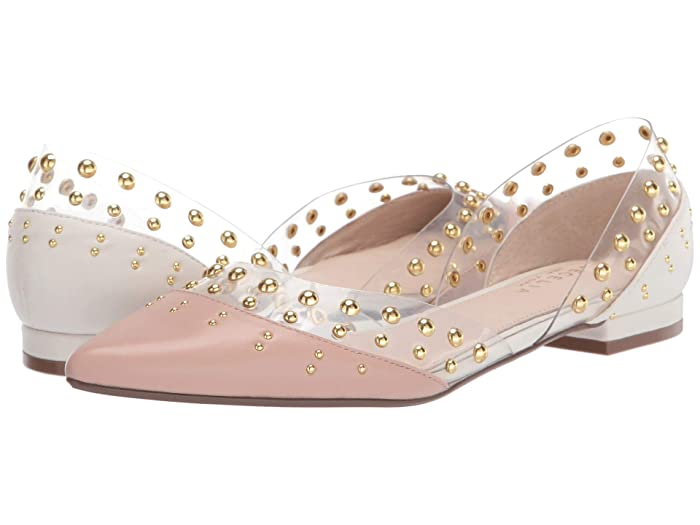 Cecelia New York  Min (Bare/Clear/Alabaster) Womens Flat Shoes