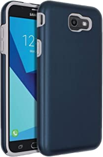 SENON Slim-fit Shockproof Anti-Scratch Anti-Fingerprint Protective Case Cover for Samsung Galaxy J7 V 2017,Galaxy J7 2017,Galaxy J7 Sky Pro,Galaxy J7 Perx,Galaxy J7 2017(AT&T),Blue