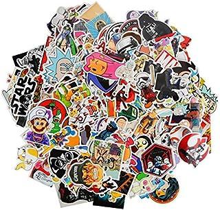 200Pcs Stickers Cartoon Mixed Toy Funny Kids Sticker for DIY Luggage car Laptop Skateboard Motorcycle Phone Waterproof Sti...