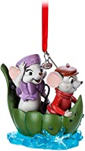 Disney Bernard and Miss Bianca Sketchbook Ornament - The Rescuers - 40th Anniversary