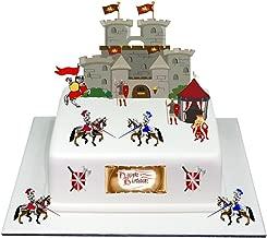JeVenis Ensemble de 24 Cupcake Dragon Topper D/écoration de G/âteau Dragon D/écoration de Chevalier du Dragon Id/ées de f/ête