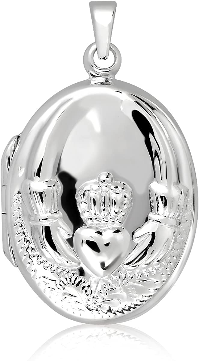 WithLoveSilver Jewelry Sterling Silver Max 65% 4 years warranty OFF 925 C Oval Antique Celtic