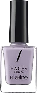 Faces Canada Hi Shine Nail Enamel Purple Frosting 183 9 ml (Purple)