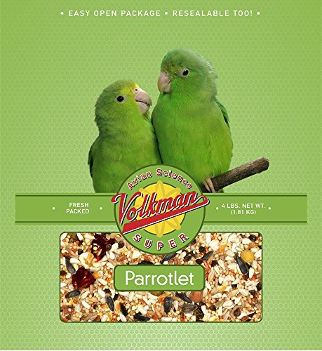 Volkman Avian Science Diet Parrotlet Bird Food 4 Lb