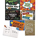 Motivational Postcards for Kids, Classroom Supplies (6x4 in, 96 Pack)