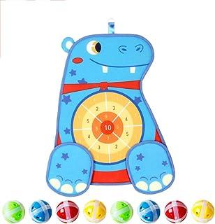 Brädspel för barn, dart för barn med 12 Sticky Ball, Dart Board Set med krokar, Safe & ClassicDartpresent till unga flicko...