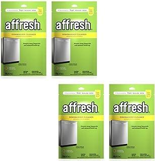 Affresh Dishwasher Cleaner Tablets, 6 count - Pack of 4