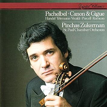 Pachelbel: Canon & Gigue & Works By Handel, Telemann, Vivaldi, Rameau & Purcell