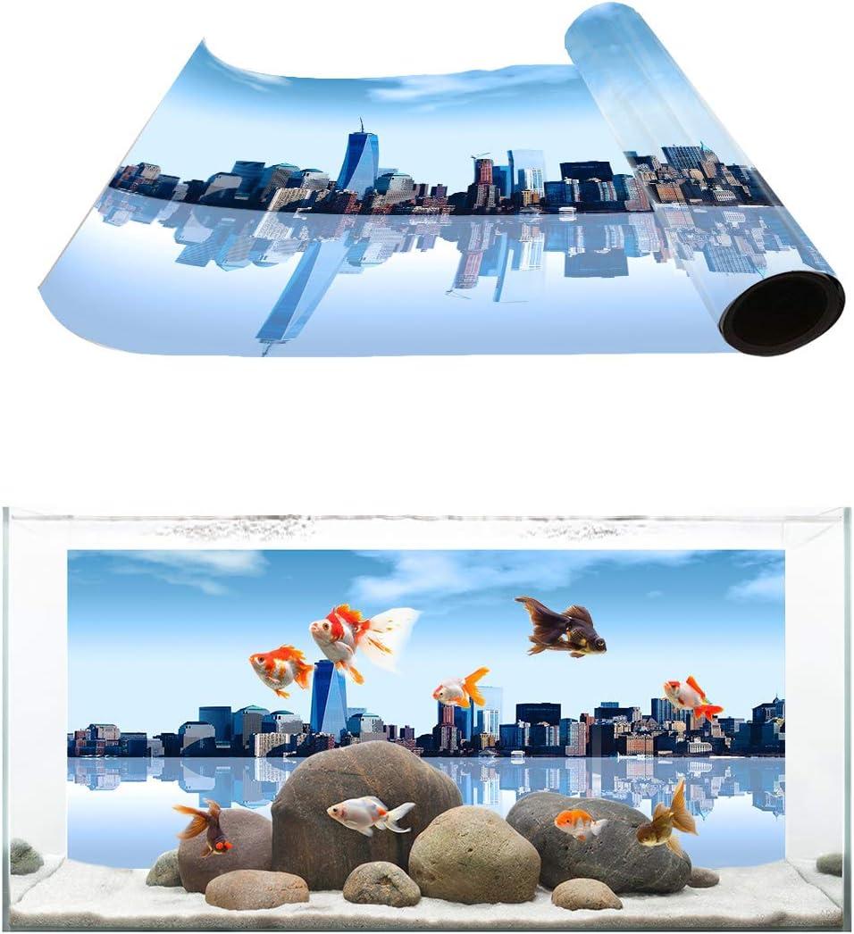 Libaoge Jacksonville Mall Aquarium Background New York Skyline City Cityscape Ill Max 76% OFF