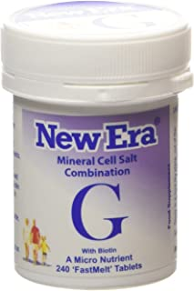 New Era Combination G Mineral Cell Salts (TISSUE SALTS) 240 Tablets
