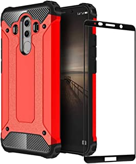 för Huawei Mate 10 Pro fodral, hård PC mjuk TPU 2 i 1 360 skyddande skydd stötsäker repbeständig hållbar telefonväska + hä...