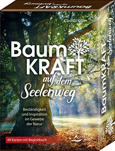 SET - Baumkraft auf dem Seelenweg: Beständigkeit und Inspirationim Gewebe der Natur - 49 Karten mit Begleitbuch