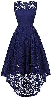 Hajotrawa Womens 3//4 Sleeve Pocket Lace Stylish Hollow Plus Size Maxi Dresses