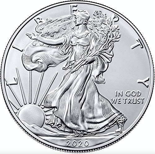 American Eagle 1 Unze Silbermünze 2020