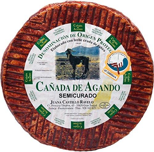 Queso Majorero Puro de Cabra Semicurado con Pimentón. Fuerteventura - Islas Canarias.