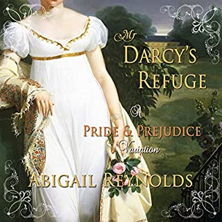 Mr. Darcy's Refuge: A Pride & Prejudice Variation                   By:                                                                                                                                 Abigail Reynolds                               Narrated by:                                                                                                                                 Pearl Hewitt                      Length: 9 hrs and 29 mins     19 ratings     Overall 4.2