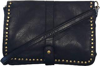 553d9f4e8bc52 Chapeau-tendance - Sac a main bandouliere vintage noir - - Femme