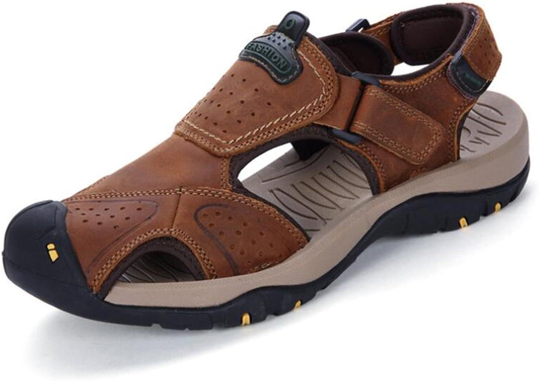 Men Outdoor & Athletic Non-slip Sandals Summer Leisure Light Walking shoes Casual Sandals (color   C, Size   44)