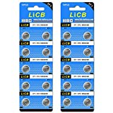 LiCB 20個 SR920SW ボタン電池 時計用【SR920sw、371 、LR920、AG6、370相当品】